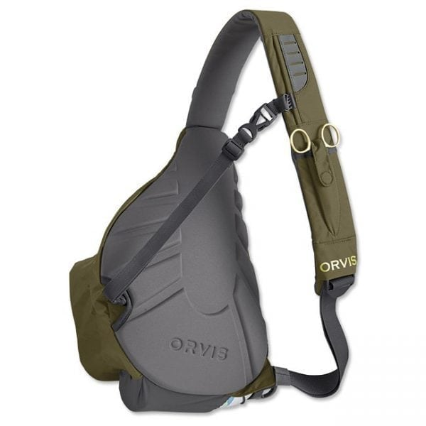 Orvis Safe Passage Sling Pack back